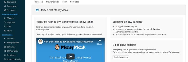 moneymonk startscherm